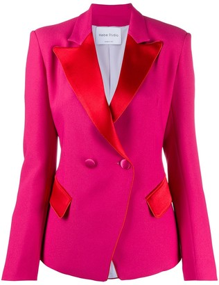 Hebe Studio Two Tone Blazer