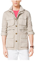 Michael Kors Cotton And Linen Utility Jacket