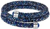 Swarovski Crystaldust Blue Crystal Wrap Bracelet 5237752