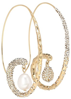 Givenchy Embellished earrings with pearls