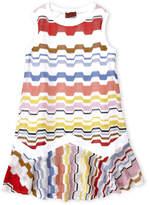 Missoni Girls 4-6x) Striped Pointelle Knit Dress