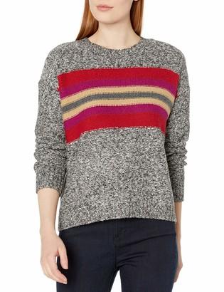 Vince Camuto Women's Colorblock Fairisle Crewneck Sweater
