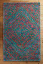 Anthropologie Jasmine Diamond Rug
