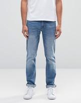 Sisley Slim Fit Jeans in Light Stone Wash