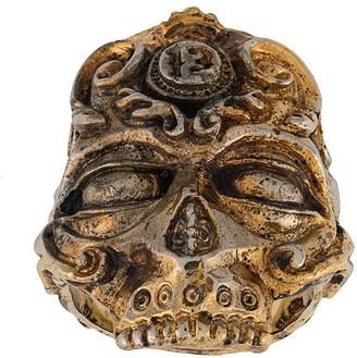 13 Lucky Monkey Skull Ring