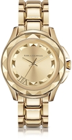 Karl Lagerfeld 7 43.5mm Gold IP Stainless Steel Unisex Watch