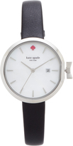 Kate Spade Park Row Leather Watch