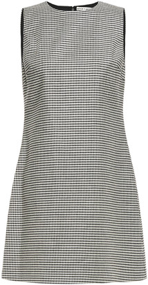 Alice + Olivia Houndstooth Jacquard Mini Dress