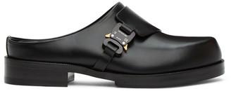 Alyx Black Formal Clog Loafers