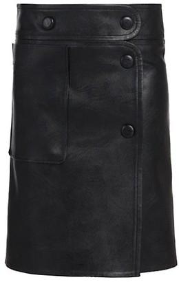 Stella McCartney Carly Faux-Leather Skirt