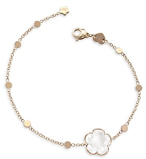 Pasquale Bruni 18K Rose Gold Bon Ton Milky Quartz Bracelet