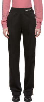 Moncler Black Satin Lounge Pants