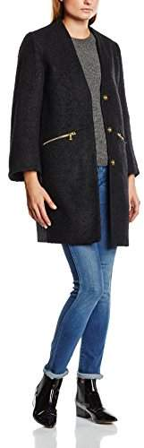 Almost Famous Women's Jewelled Long Sleeve Coat