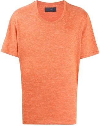 Alanui round neck short-sleeve T-shirt