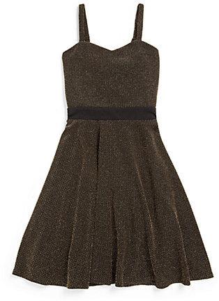 Sally Miller Girl's Gold Rush Dress