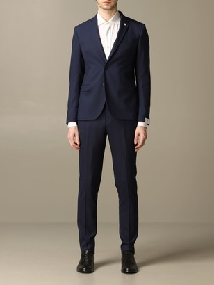 Manuel Ritz Single-breasted Suit