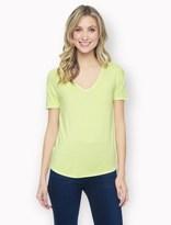 Splendid Rayon Jersey Short Sleeve Top