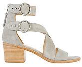 Rag & Bone Mari Suede Cross Strap Sandals
