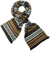 Grevi Intarsia Knit Scarf