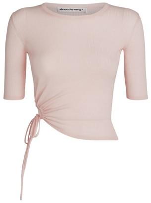 Alexander Wang Wool Tie-Detail Sweater