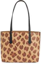 Kate Spade Molly Leopard-Print Small Tote Bag
