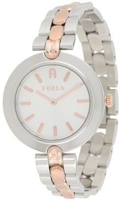 Furla Milano two-tone watch