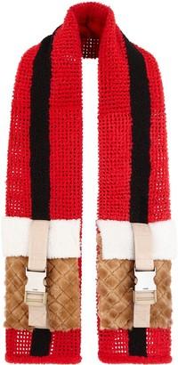 Fendi Knitted Wool Scarf