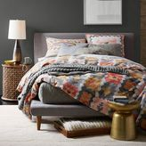 west elm Mod Upholstered Platform Bed - Feather Gray