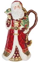 Fitz & Floyd Renaissance Holiday Santa Pitcher