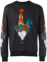 Dolce & Gabbana rooster print sweatshirt - men - Cotton - 48