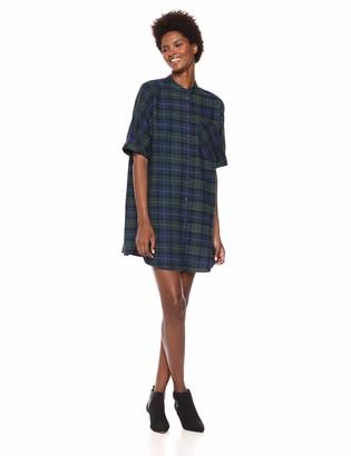 Ax Armani Exchange A|X Armani Exchange Women's Plaid Tshirt Dress