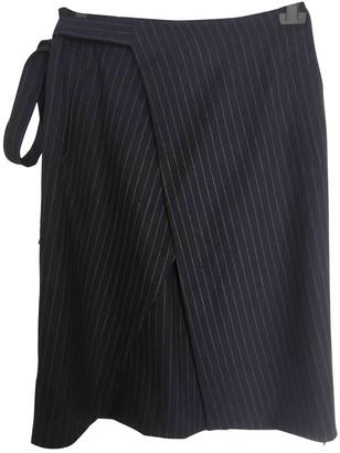 Filippa K Black Wool Skirt for Women