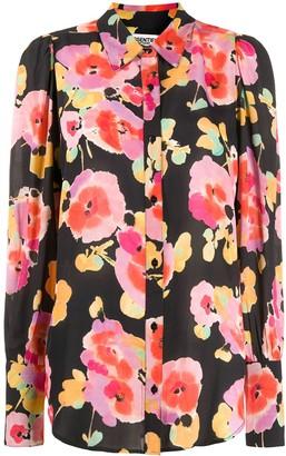 Essentiel Antwerp Floral-Print Buttoned Shirt