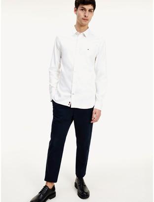 Tommy Hilfiger Slim Fit 4-Way Stretch Dobby Shirt