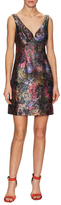 Nicole Miller Flower Garden Jacquard Dress