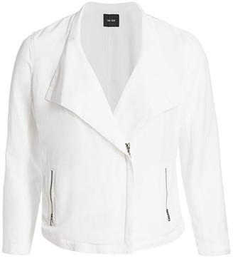 Nic + Zoe, Plus Size Sundown Moto Jacket