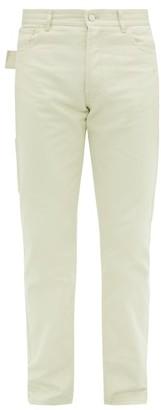 Bottega Veneta Mid-rise Cotton-twill Utility Trousers - White
