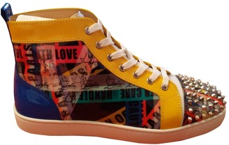 Christian Louboutin Multicolour Patent leather Trainers