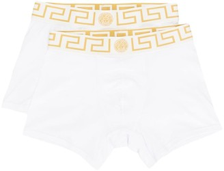 Versace Greek Key logo band underwear set