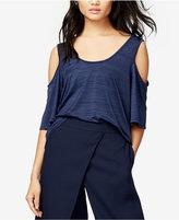 Rachel Roy Cold-Shoulder Crop Top, Only at Macy's