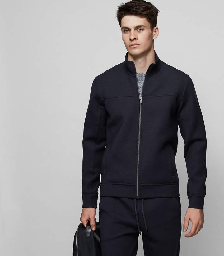Reiss MONTY Zip front jumper
