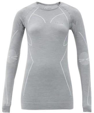 Falke Technical Merino Wool-blend Thermal Top - Grey