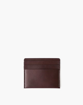 Madewell MAKR Leather Cascade Wallet