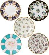 Royal Albert 100 years 5 piece set of 20cm plates (1900-1940)
