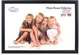 Inov-8 Inov8 British Made Traditional Picture/Photo Frame, 12x8-inch, Value Black