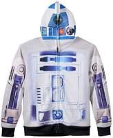 Boys 8-20 Star Wars: Episode VII The Force Awakens R2-D2 Costume Full-Zip Hoodie