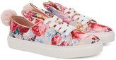 Minna Parikka Floral Satin Bunny Sneakers