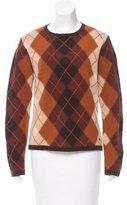 Burberry Argyle Wool Sweater