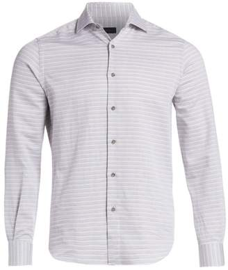 Saks Fifth Avenue Thin Stripe Woven Shirt
