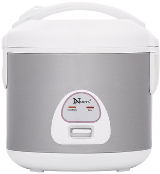 Narita Stainless 10-Cup Rice Cooker